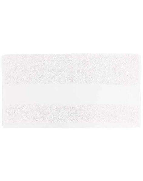 Handdoek - ca. 50 x 100 cm, wit