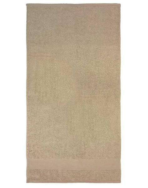 Handtuch - ca. 50 x 100 cm, beige