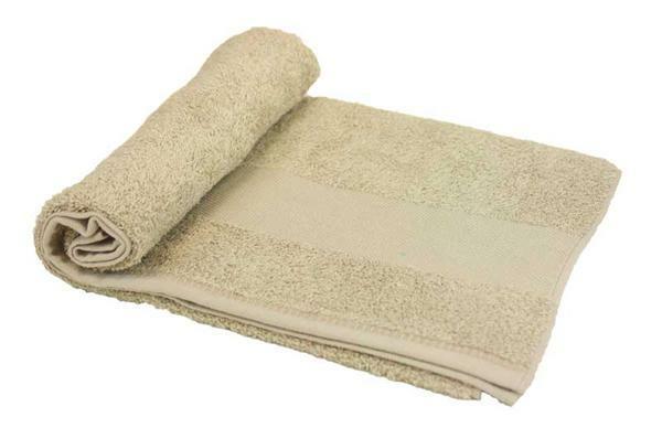 Handdoek - ca. 50 x 100 cm, beige