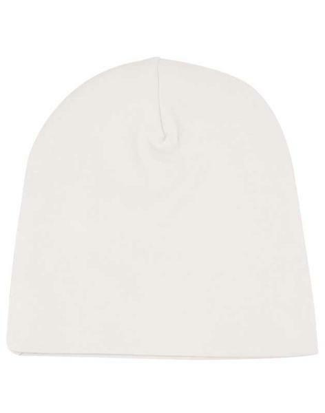 Babymütze - ca. Ø 36 cm, weiß