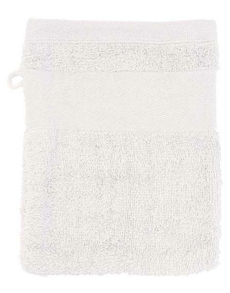 Waschhandschuh - 14,5 x 20 cm, weiß