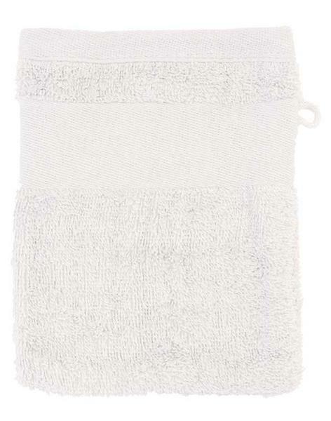 Gant de toilette - 14,5 x 20 cm, blanc