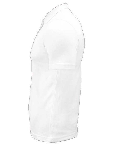 Polo-Shirt Herren - weiß, S