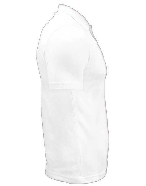 Polo-Shirt Herren - weiß, XL