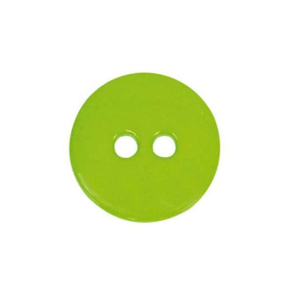 Knöpfe - Ø 15 mm, hellgrün