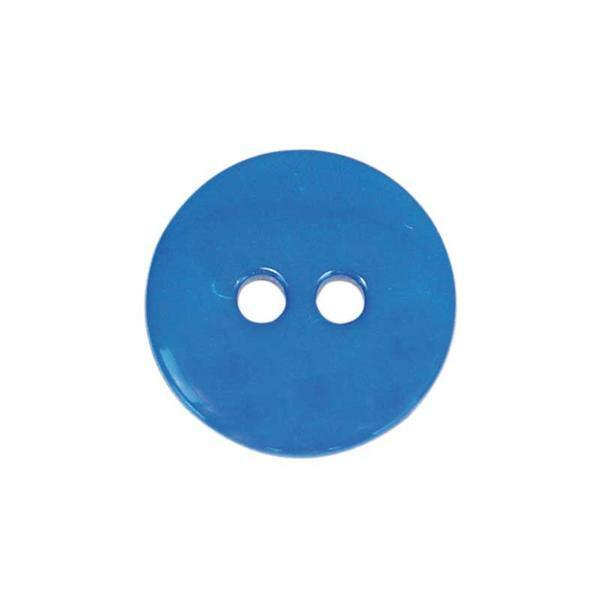 Knöpfe - Ø 15 mm, blau