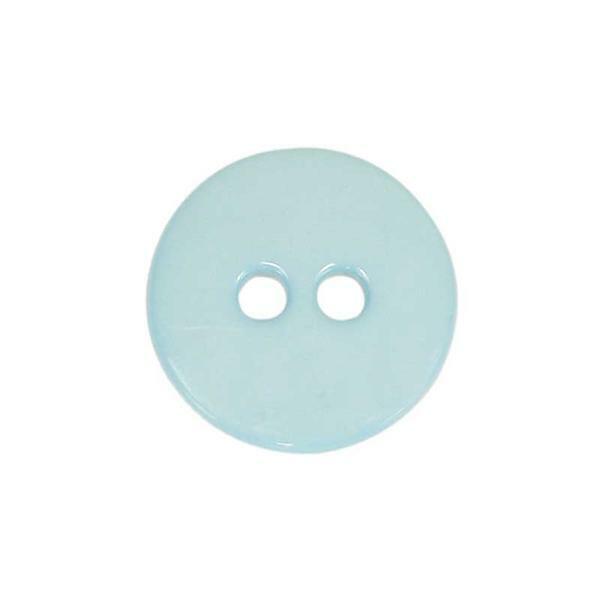 Knopen - Ø 15 mm, lichtblauw