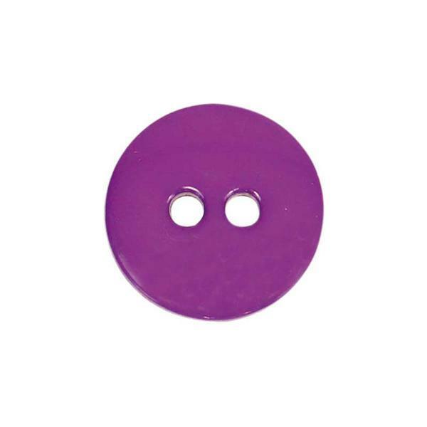 Knöpfe - Ø 15 mm, lila