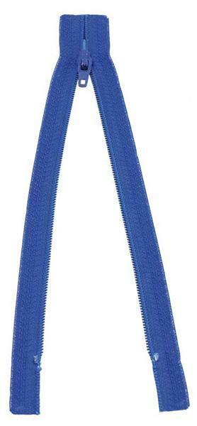 Ritssluiting - 18 cm, blauw