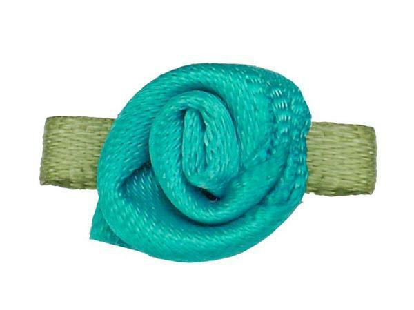 Rose satin - petit, turquoise