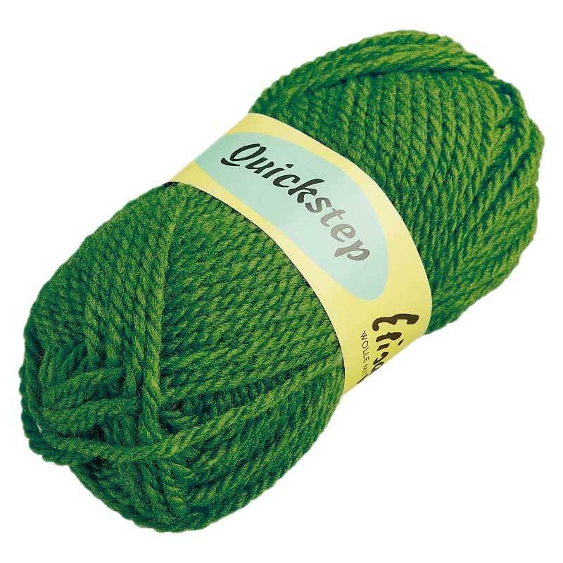 Wolle Quickstep - 50 g, olivgrün