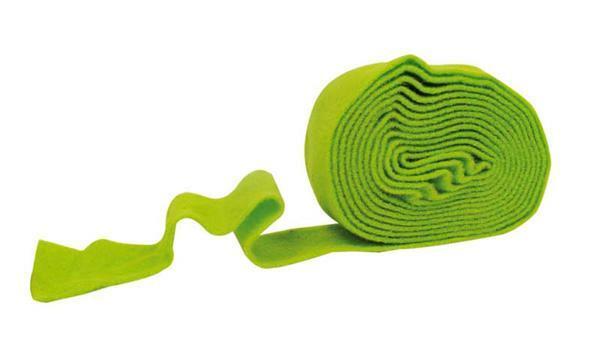 Filzband - 7 cm breit, hellgrün