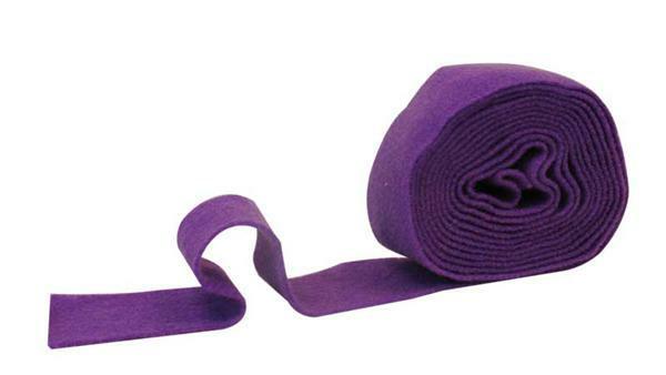 Viltband - 7 cm breed, lila