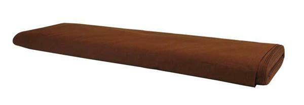 Tissu coton - uni, brun foncé