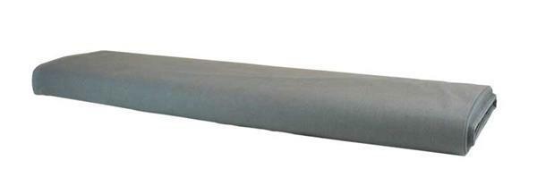 Baumwollstoff - uni, grau