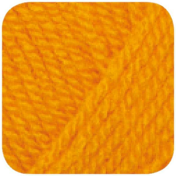 Wolle hatnut XL 55 - 50 g, dottergelb