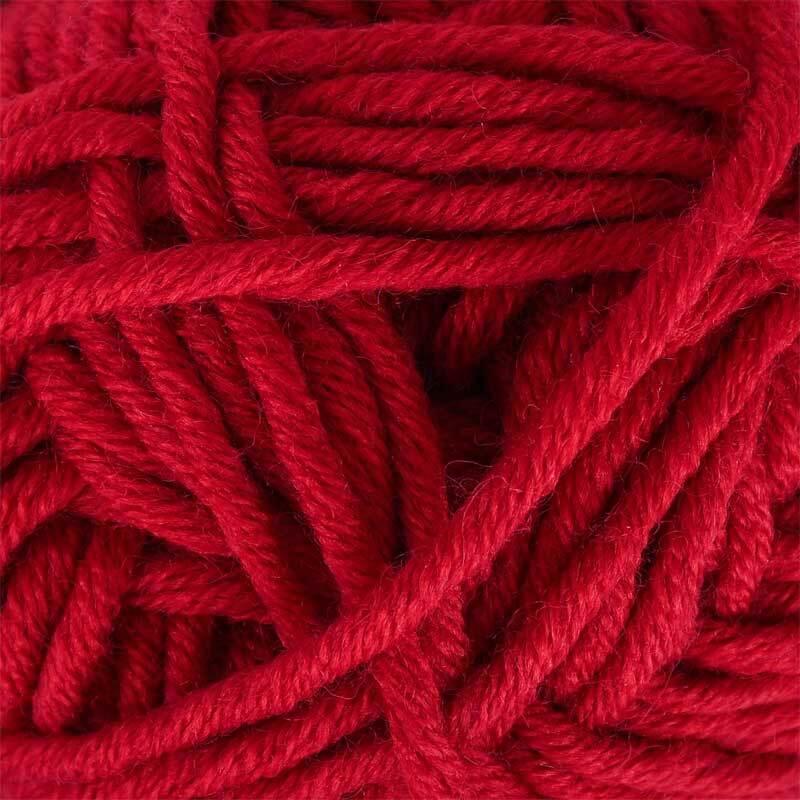 Wolle hatnut XL 55 - 50 g, rot