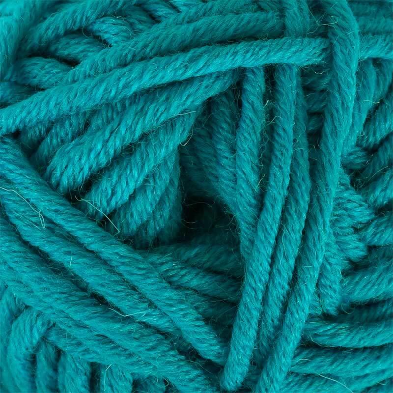 Wolle hatnut XL 55 - 50 g, türkis