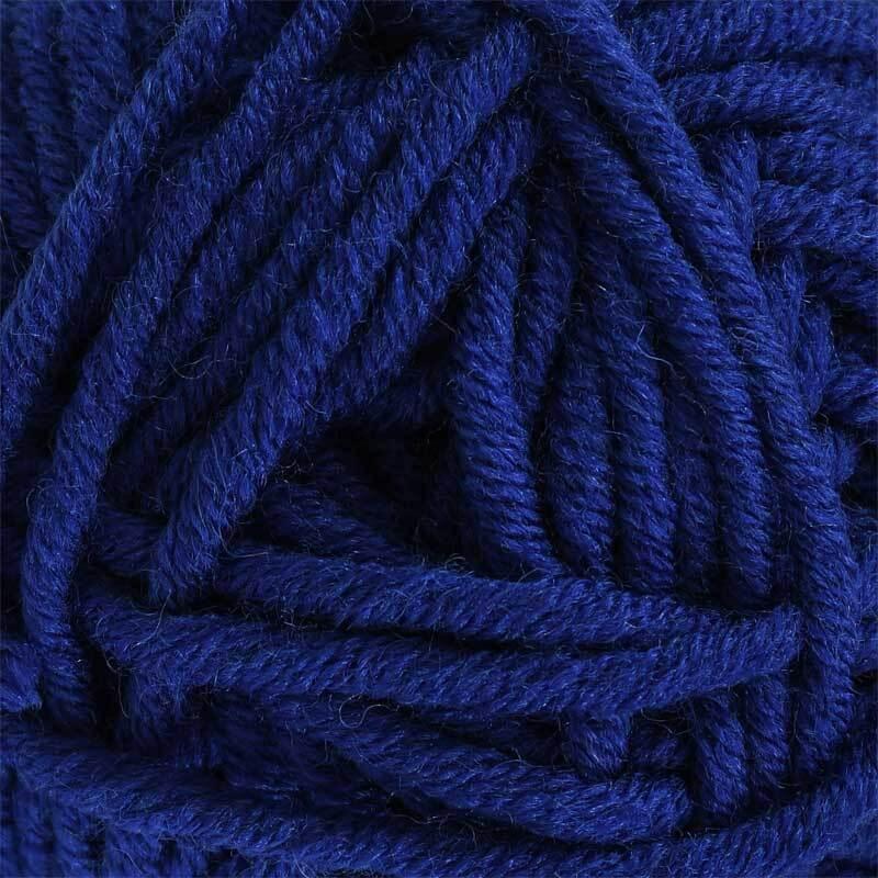 Wolle hatnut XL 55 - 50 g, dunkelblau
