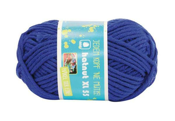 Laine Hatnut XL 55 - 50 g, bleu foncé