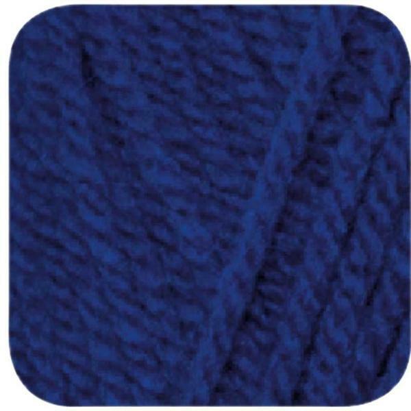 Wol hatnut XL 55 - 50 g, donkerblauw