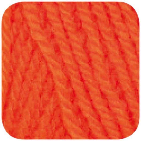 Wolle hatnut XL 55 - 50 g, neonorange