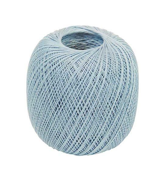 Fil à crocheter - n° 16, bleu clair