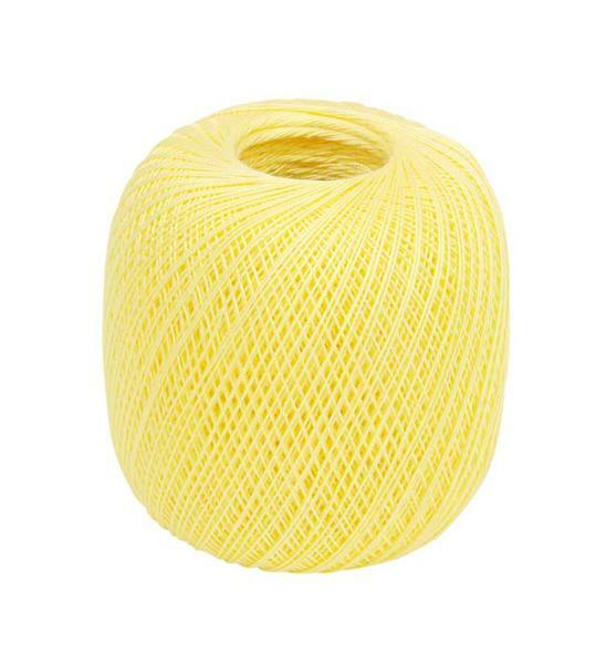 Fil à crocheter - n° 16, vanille