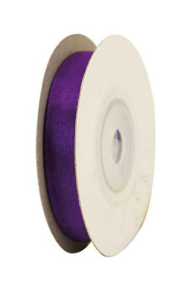 Ruban organza - 10 mm, violet