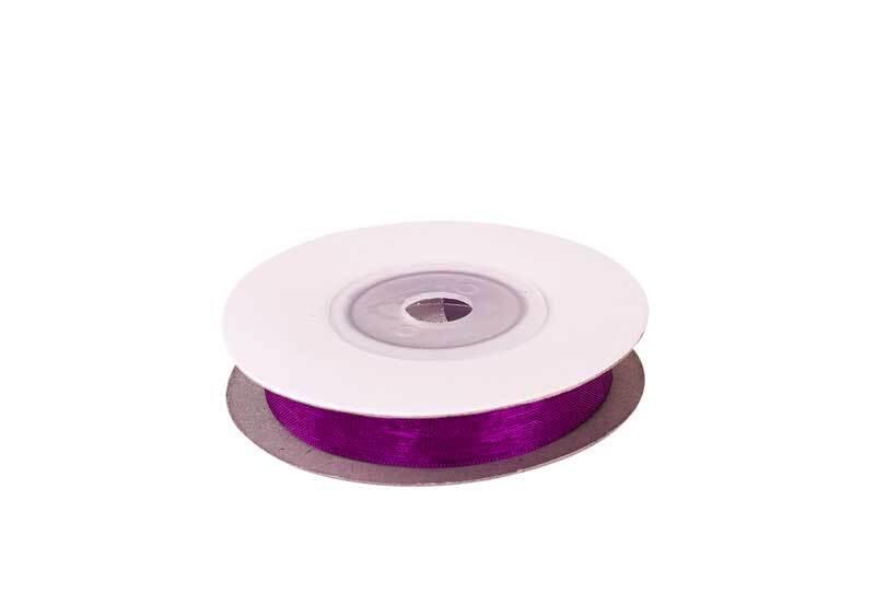 Organza lint - 10 mm, violet