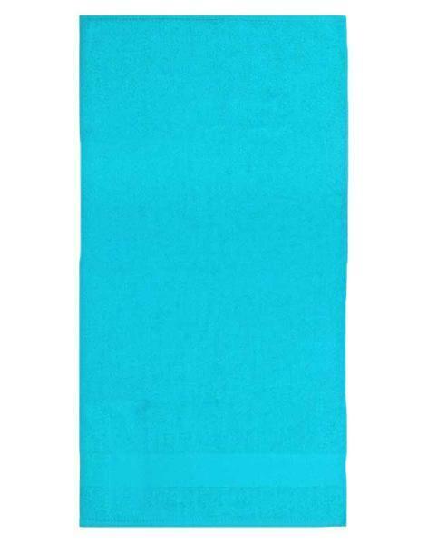 Handdoek - ca. 50 x 100 cm, aqua