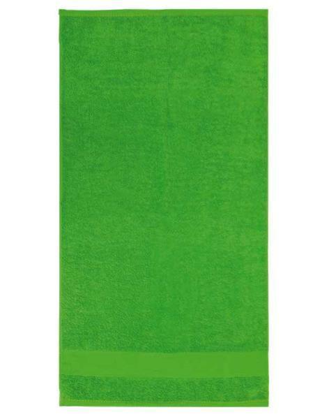 Handtuch - ca. 50 x 100 cm, grün