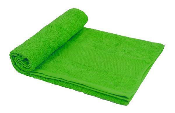Handdoek - ca. 50 x 100 cm, groen