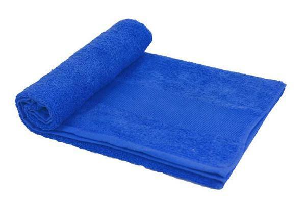 Handdoek - ca. 50 x 100 cm, blauw