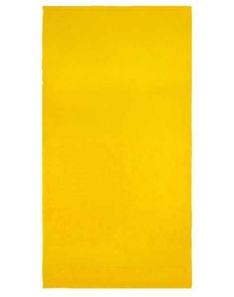 Handdoek - ca. 50 x 100 cm, geel