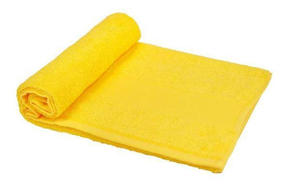 Handtuch - ca. 50 x 100 cm, gelb