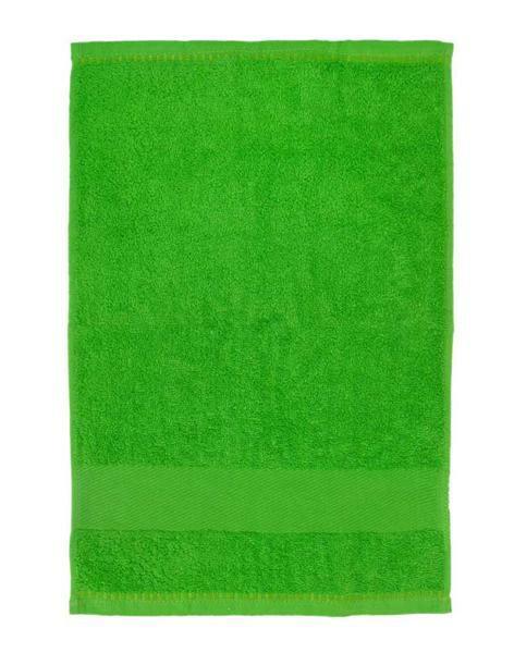 Gastendoekje/handdoek - ca. 30 x 50 cm, groen