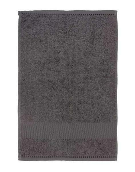 """Serviette """"invité"""" - Env. 30 x 50 cm, gris"""