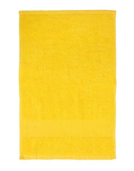 """Serviette """"invité"""" - Env. 30 x 50 cm, jaune"""