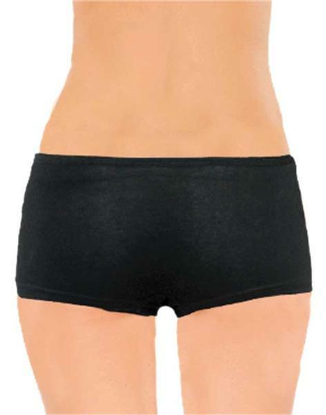 Boxershort dames - zwart, L