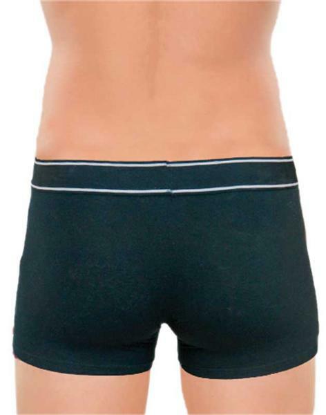 Boxershort heren - zwart, L