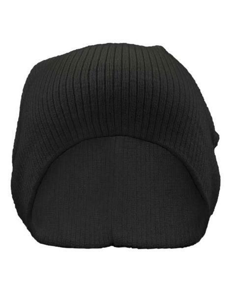 Bonnet Béanie - Taille Unique, noir