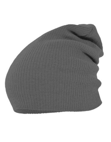 Beanie muts - one size, grijs