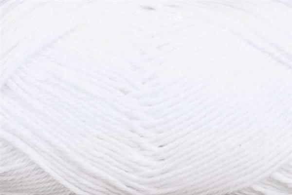 Laine Cotton Fun - 50 g, blanc