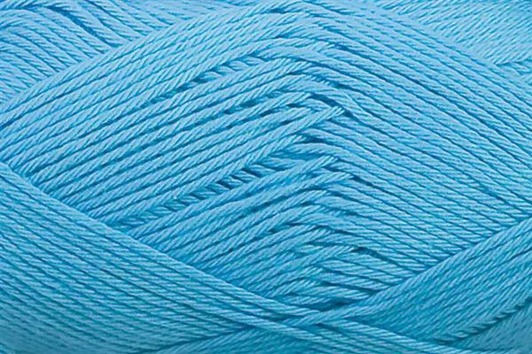 Laine Cotton Fun - 50 g, bleu clair