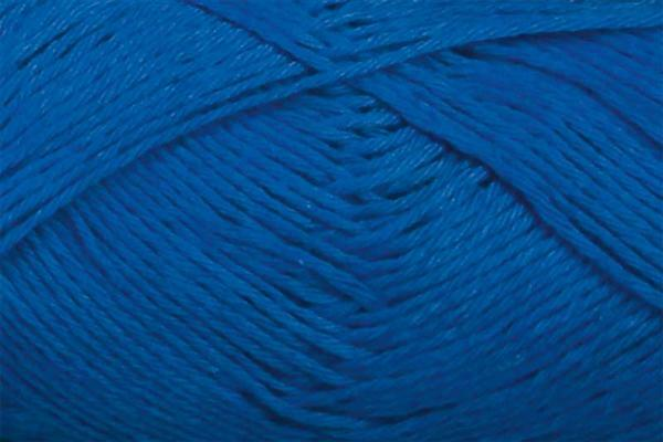 Wol Cotton Fun - 50 g, blauw