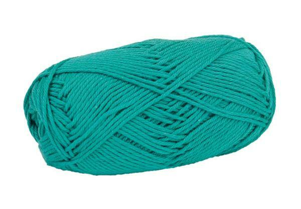 Wol Cotton Fun - 50 g, turkoois