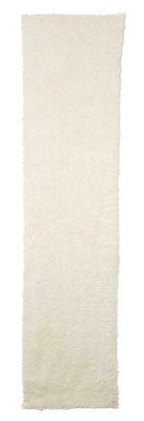 Imitatiebont pluche stof, 40 x 160 cm, naturel