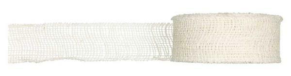 Juteband - 8 x 1000 cm, crème