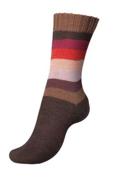 Laine Pairfect pour chaussettes - 100 g, cinnamon